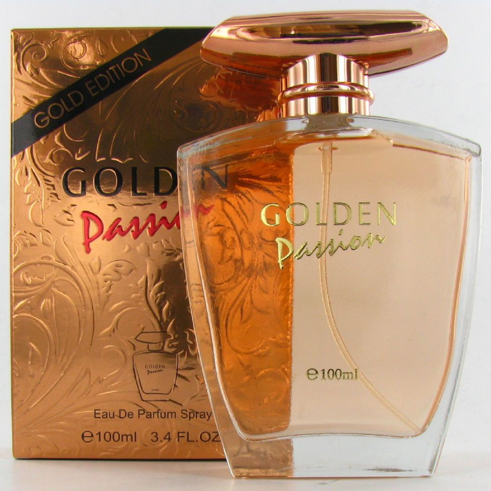 Saffron Fragrance Golden Passion EDP Spray 100ml Ladies Perfume
